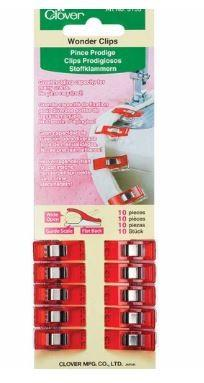 Wonder Clips Red available in Canada at The Quilt Store