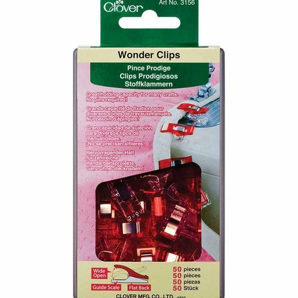 Clover Wonder Clips available in Canada at The Quilt Store