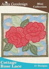 Anita Goodesign Cottage Rose Lace