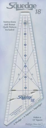 Squedge 18degree ruler by Cheryl Phillips