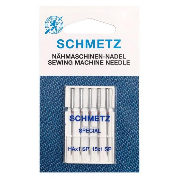 Schmetz Super Stretch HAx1SP 75/11 Needles available in Canada at The Quilt Store