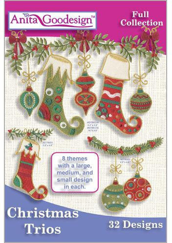 Anita Goodesign Christmas Trios