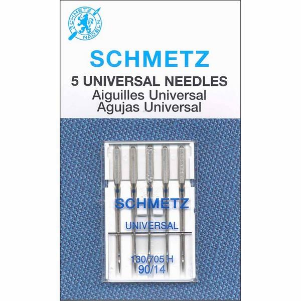 Schmetz Universal Needles 90/14 5 pack available in Canada at The Quilt Store