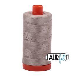 Aurifil 5011 Rope Beige 50 wt available in Canada at The Quilt Store