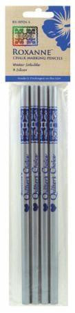 Roxanne Chalk Marking Pencils - Silver 4 pack