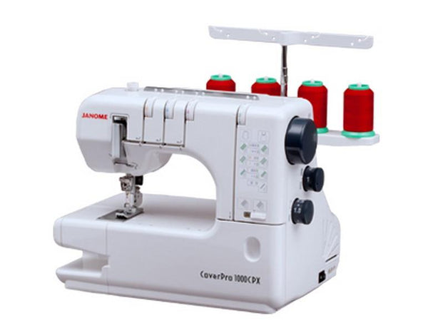 Janome Cover Pro 1000CPX available in Canada at The Quilt Store