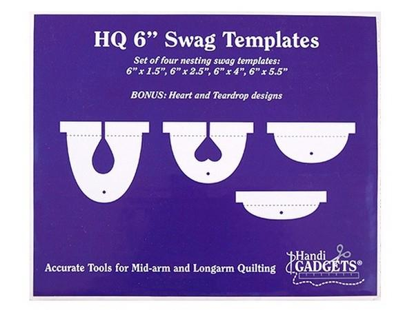 "Handi Quilter 6"" Swag Template available in Canada at The Quilt Store"
