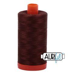 Aurifil 2360 - Chocolate 50 wt available in Canada at The Quilt Store