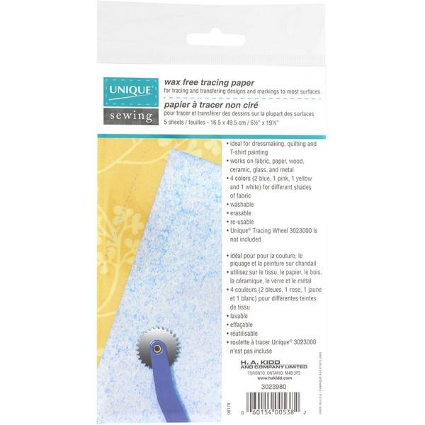 Unique Wax Free Tracing Paper available at The Quilt Store