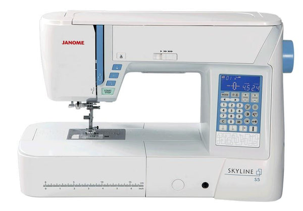 Janome Skyline S5 available in Canada at The Quilt Store