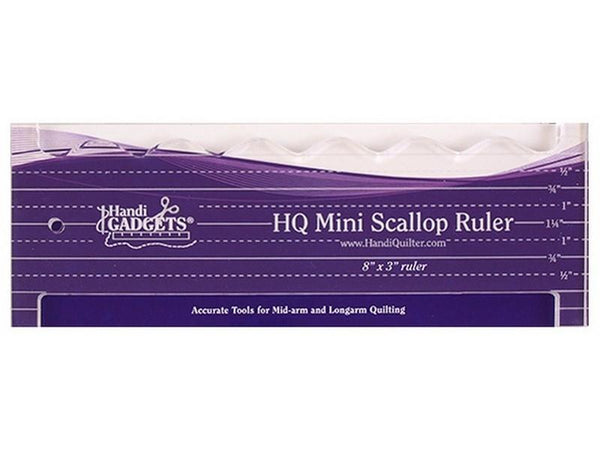 HQ Mini Scallop Ruler available in Canada at The Quilt Store