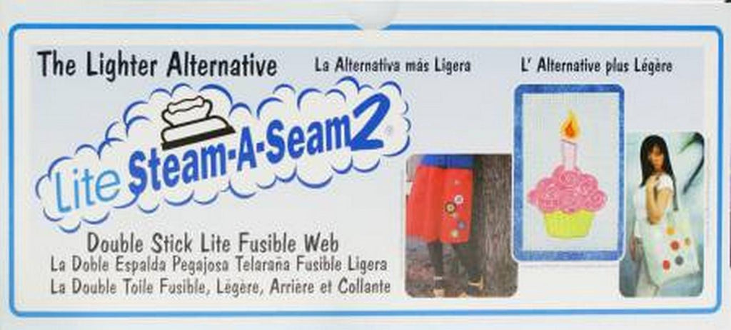 Lite Steam-a-Seam 2 available in Canada at The Quilt Store
