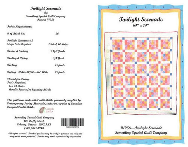 Twilight Serenade by Something Special Quilt Company at The Quilt Store