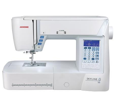 Janome Skyline S3 available in Canada at The Quilt Store