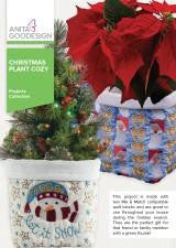 Anita Goodesign Christmas Plant Cozy
