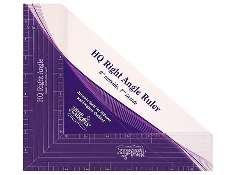 Handi Quilter Right Angle ruler available in Canada at The Quilt Store