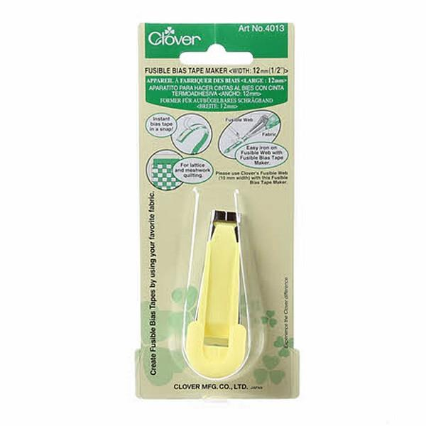 Clover Bias Tape Maker 12mm available at The Quilt Store
