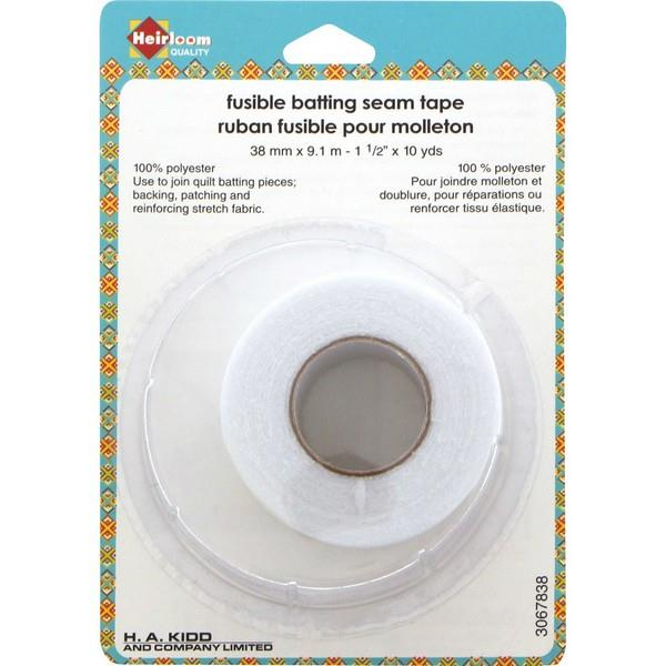 Fusible batting seam tape at The Quilt Store