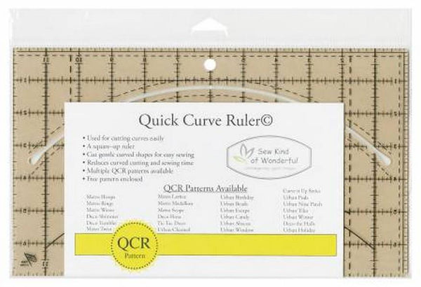 Quick Curve Ruler by Sew Kind of Wonderful at The Quilt Store