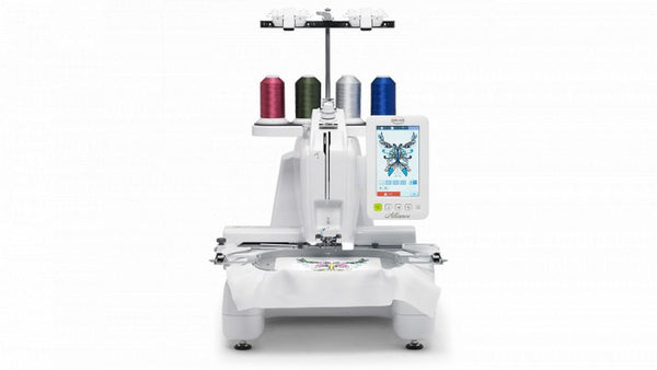 Baby Lock Alliance Single Needle Embroidery Machine available in Canada at The Quilt Store