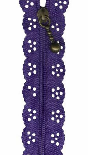 Purple Lacie Zippers by Border Creek Station available at The Quilt Store