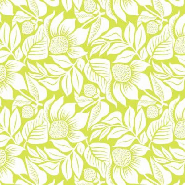 Modern Mixers III - Lime Large Floral