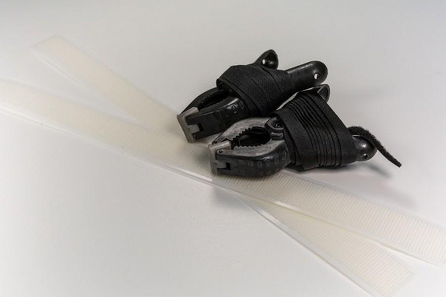HandiQuilter Side Velcro Clamps (set of 2) available at The Quilt Store