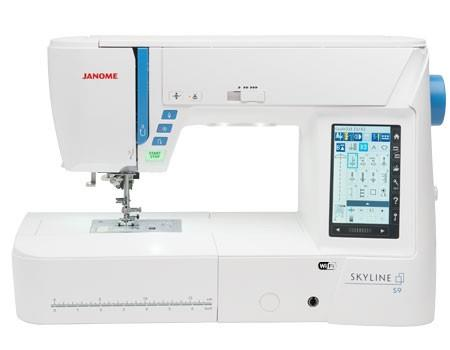 Janome Skyline S9 available in Canada at The Quilt Store