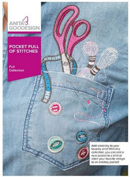 Pocket Full of Stitches by Anita Goodesign at The Quilt Store