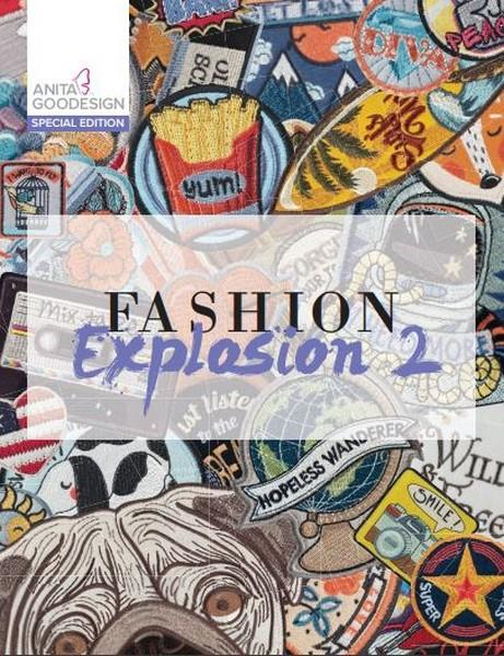 Fashion Explosion 2 by Anita Goodesign at The Quilt Store