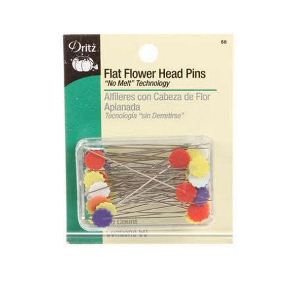 Dritz Flower Head Pins - 50 pc at The Quilt Store