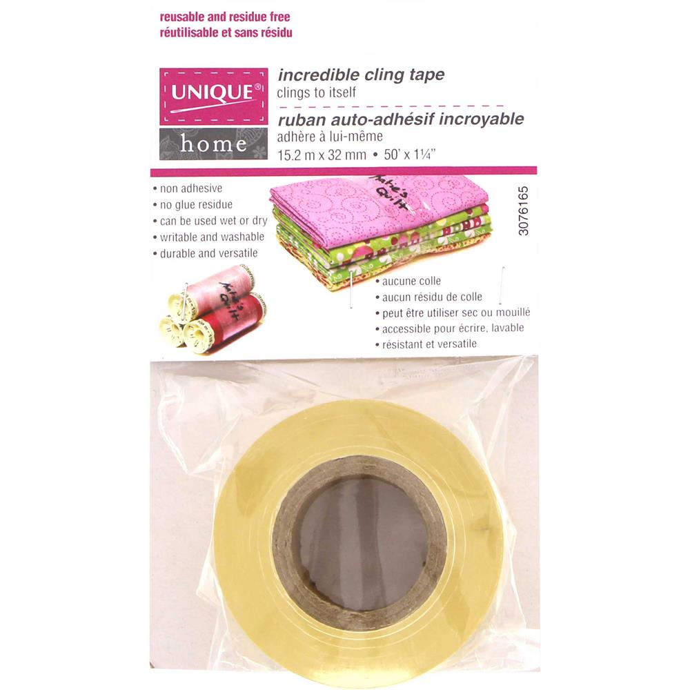 Unique Incredible Cling Tape available at The Quilt Store3