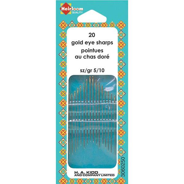 Heirloom sewing needles available in Canada at The Quilt Store