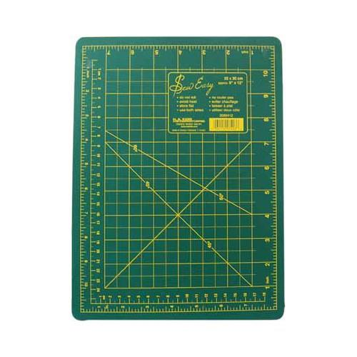 "Sew Easy 9"" x 12"" cutting mat available in Canada at The Quilt Store"
