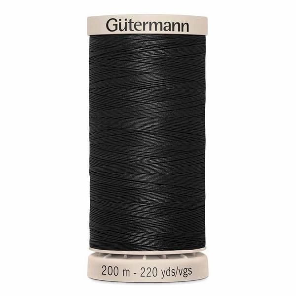 Gutermann Hand Quilting Thread Black availale