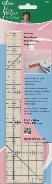 Clover Press Perfect hot ruler
