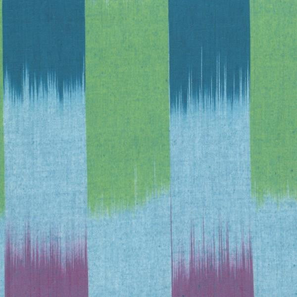 Ikat Stripe - Ocean by Kaffe Fassett at The Quilt Store