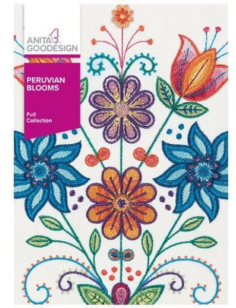 Anita Goodesign Peruvian Blooms at The Quilt Store