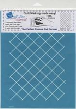 "Full Line Stencil 1""Grid by Hancy available in Canada at The Quilt Store"