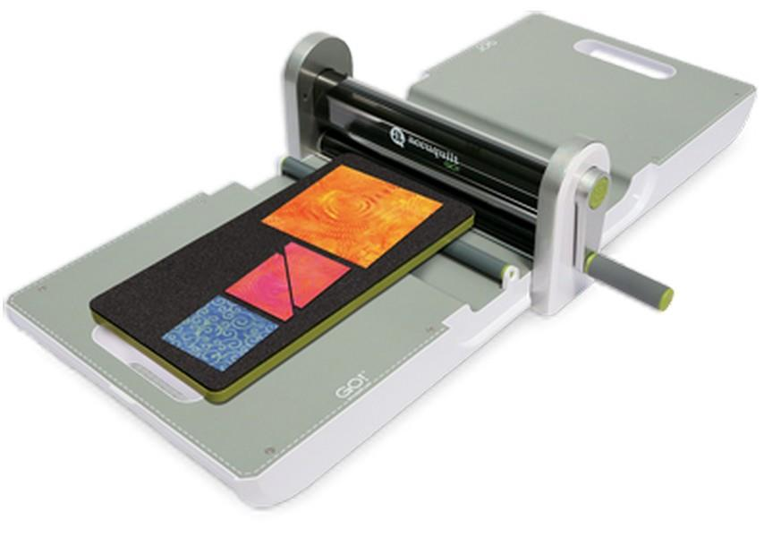 AccuQuilt Go! Fabric Cutter Starter Set available in Canada at The Quilt Store