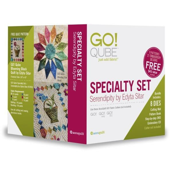 AccuQuilt Go! Qube Specialty Set - Serendipity by Edyta Star