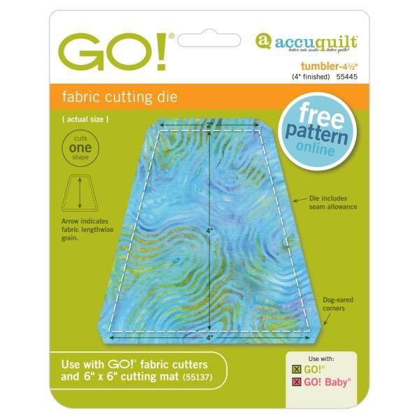 AccuQuilt Go! Fabric Cutting Die Tumbler - 4 1/2""