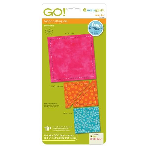 AccuQuilt Go! Fabric Cutting Die Value Die
