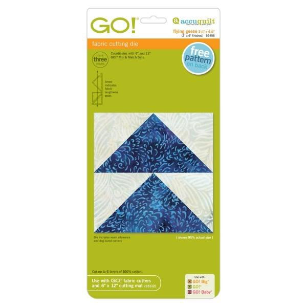 AccuQuilt Go! Fabric Cutting Die Flying Geese