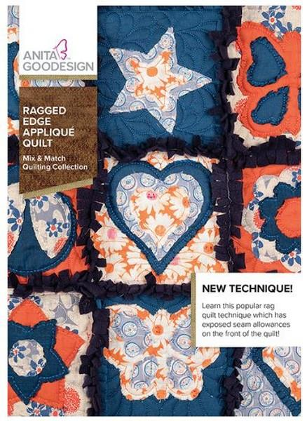 Anita Goodesign Ragged Edge Applique at The Quilt Store in Canada