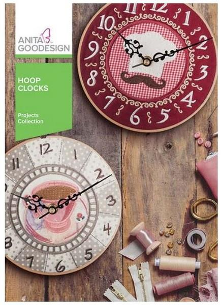 Anita Goodesign Hoop Clocks at The Quilt Store in Canada