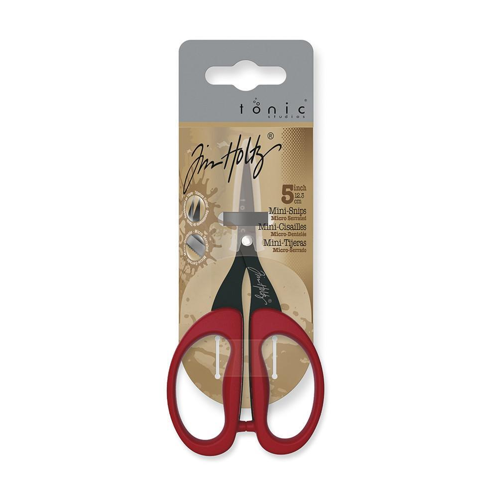 "Tim Holtz 5"" Mini Snips available at The Quilt Store"