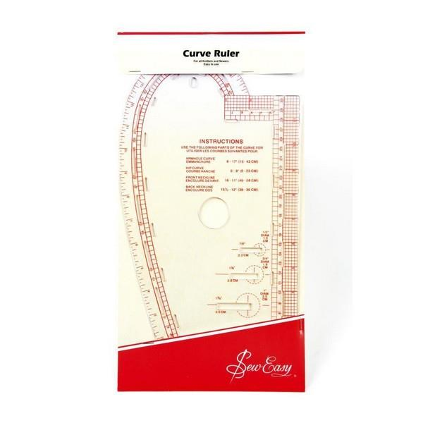 Sew Easy Curved Ruler available at The Quilt Store