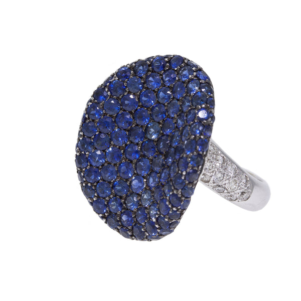Exotica | Blue Sapphire Ring