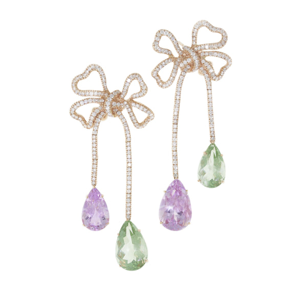Present |  Kunzite Earrings